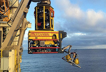 CRE cables on drill support and vessel based ROV for world's deepest well by water depth